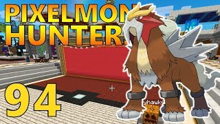 [94] Safari Games! Tie Or Entei?!? (Pixelmon Reforged Gameplay S2)