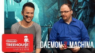 DAEMON X MACHINA Gameplay - Nintendo Treehouse: Live | E3 2018