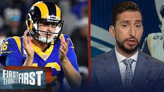 Rams proved they are sold on Jared Goff with new contract — Nick Wright   NFL   FIRST THINGS FIRST