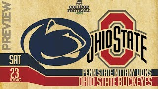 Ohio State vs Penn State College Football - Preview & Predictions - Buckeyes vs Nittany Lions