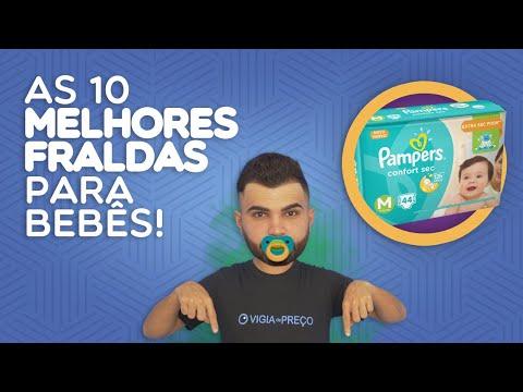 AS 10 MELHORES FRALDAS PARA O SEU BEBÊ