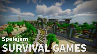 Spēlējam Survival Games (EsportaSkolas Minecraft tests)