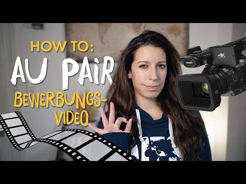 How to: Dein Au Pair Bewerbungsvideo  | #GoodToKnow 💡 | AIFS Educational Travel