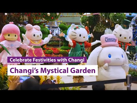 Changi's Mystical Garden is unveiled!