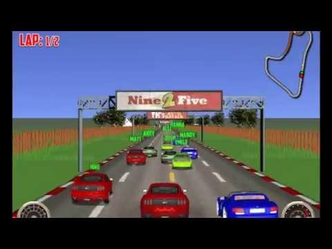Modifiyeli Araba Yarışı Oyunu Oyun Videosu
