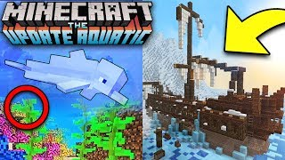 Minecon Earth Aquatic Update All 1 14 Details Everything New