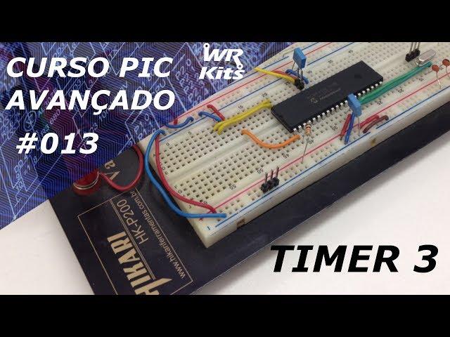 TIMER 3 DO PIC18F4550 | Curso de PIC Avançado #013