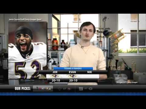 Pro Football Pick'em Show: Divisional Playoffs with Nik Boniddio