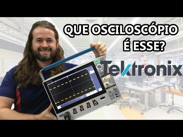 VOCÊ PRECISA CONHECER O MAIS NOVO LANÇAMENTO DA TEKTRONIX! OSCILOSCÓPIO MDO 3 SERIES