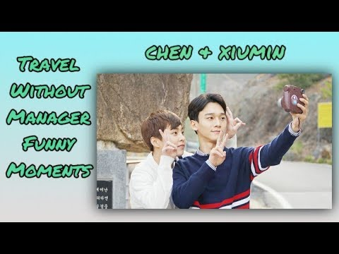 EXO Chen & Xiumin Travel Without Manager | Funny Moments