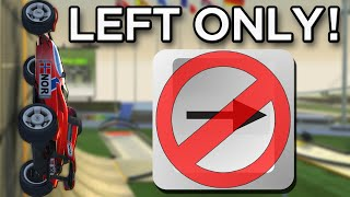 Can you beat Trackmania Nations Forever WITHOUT Steering Right?