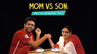 Mom Vs Son: The Lie Detector Test | Ok Tested