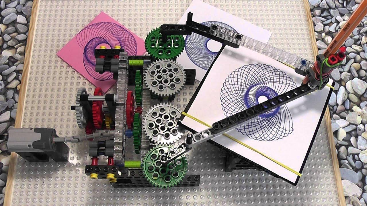 LEGO Technic Spirograph V2 - YouTube