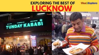 Lucknow Tour | Episode 1 | Uttar Pradesh | Street food Lucknow