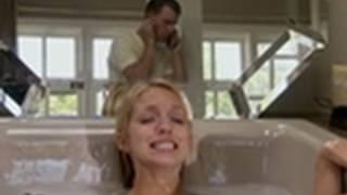 I Didn't Know I Was Pregnant - Breech Baby in Bath Tub