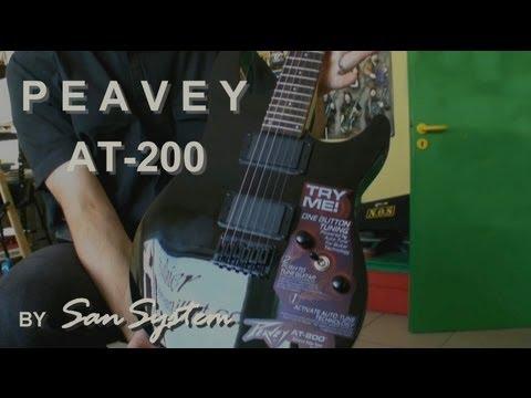 ♫♪ Test Guitar PEAVEY AT-200 (HD) ♪♫