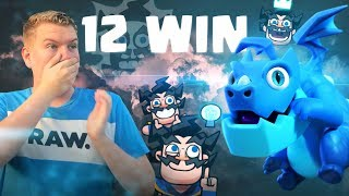 NEW CARD! 12 Win Electro Dragon Draft Challenge LIVE Gameplay - Clash Royale