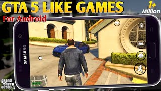 10 Best Android Games like GTA 5 [WITH DOWNLOAD LINKS] || Gta 5 Like Games