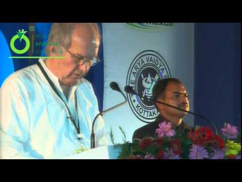 Address Speech Delivered by Dr.Oliver Warner - 5th World Ayurveda Congress