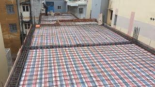 CHITHACONST - Cốp pha sàn, cốt thép sàn Nhà phố chuẩn bị đổ bê tông | Ván khuôn nhà ở gia đình