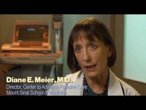 Dr. Diane Meier, Director of the Center to Advance Palliative Care defines what palliative care is and how it can help those facing serious illness as well as their families.