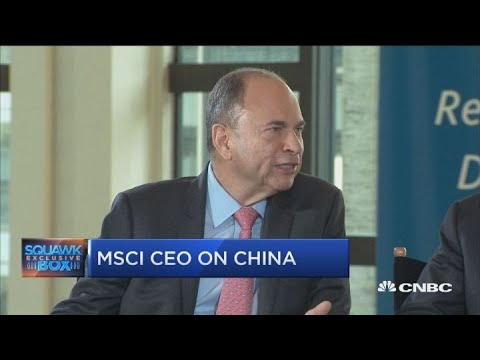 MSCI CEO on China and index investing