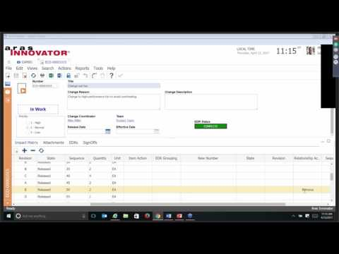 Aras Innovator Demo Series - Quality Management System