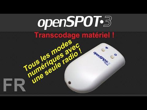 SharkRF OpenSPOT3 - Évaluation avec transcodage matériel