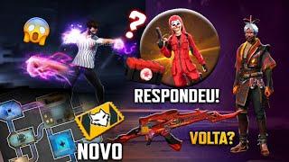 GARENA FALOU SOBRE TOP CRIMINAL DE VOLTA, NOVO PUNHO, USE 7 HABILIDADES, INCUBADORA ALUCINAÇÕES? FF