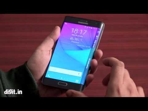 Samsung Galaxy Note Edge   First Look HINDI
