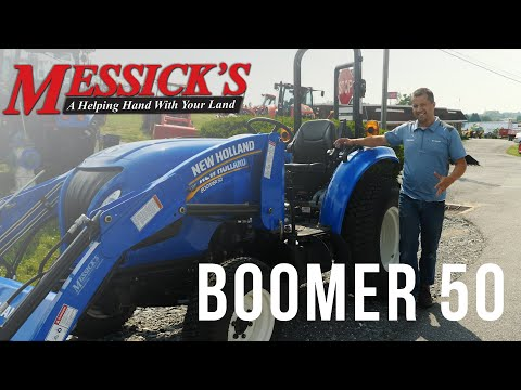 New Holland Boomer 50 - 2020 Review Picture