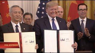Hoa Kỳ lùi bước trong thương chiến Mỹ-Trung, Việt Nam có an toàn? (VOA)