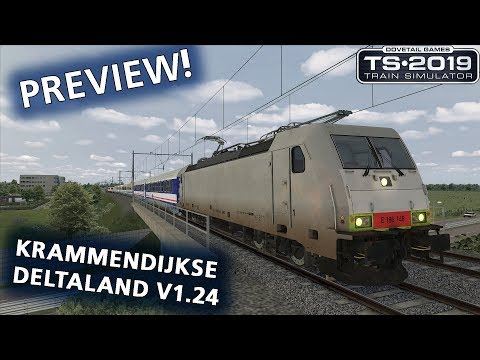 Train Simulator 2019: Het Krammendijkse Deltaland v1.24 PREVIEW