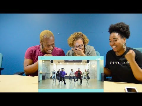MY FRIENDS REACT TO PENTAGON-SHINE DANCE PRACTICE