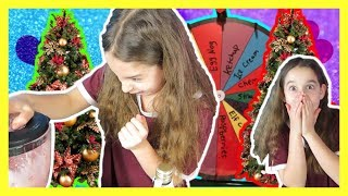 MYSTERY WHEEL OF SMOOTHIE CHALLENGE *CHRISTMAS EDITION!*