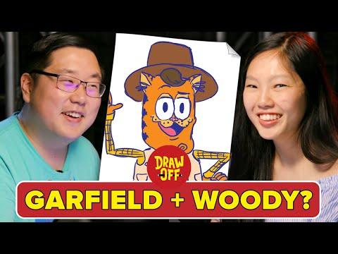 Animator Vs. Cartoonist Mash Up Famous Characters