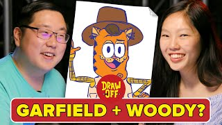 Animator Vs. Cartoonist Mash Up Famous Characters •Draw Off