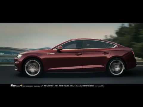 De nieuwe Audi A5 Sportback