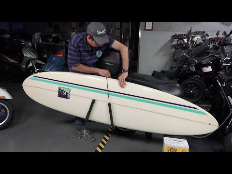 Carver Surfboard Rack for Scooters | Full Installation