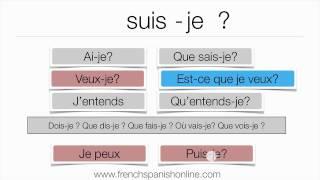 formez les phrase en français