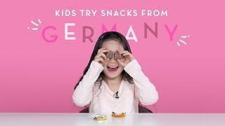 Kids Try Snacks from Germany | Kids Try | HiHo Kids