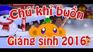 Game chú khỉ buồn giáng sinh 2016 - Game.24h.com.vn