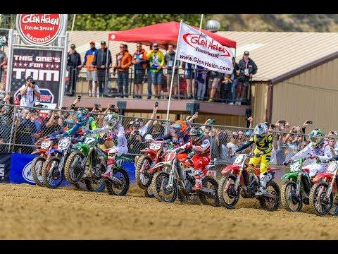 2018 Glen Helen Motocross 250 Class Race 2 Remix | TransWorld Motocross