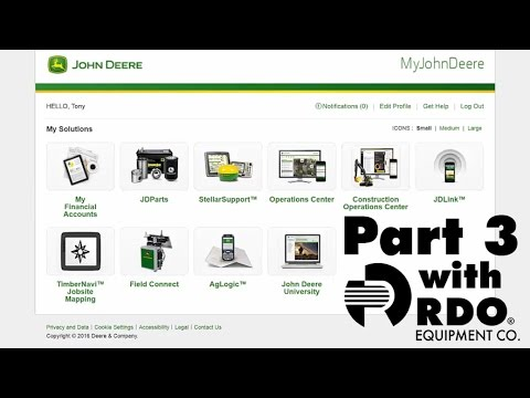 John Deere Operations Center Full Tutorial pt. 3 - Interactive Video by RDO Equipment Co.