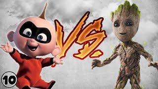 Jack Jack Parr vs Baby Groot