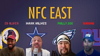 NFC East Live Stream Roundtable Discussion W/ Mark Holmes, Ed Oliver & Philly.500