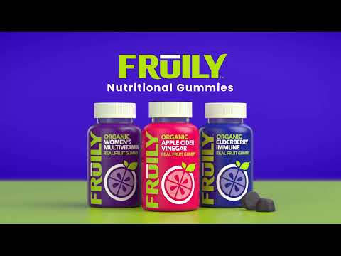 Fruily Nutritional Gummies: Real Fruit. No Junk.