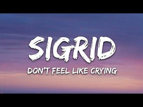 Sigrid - Don't Feel Like Crying (Lyrics)