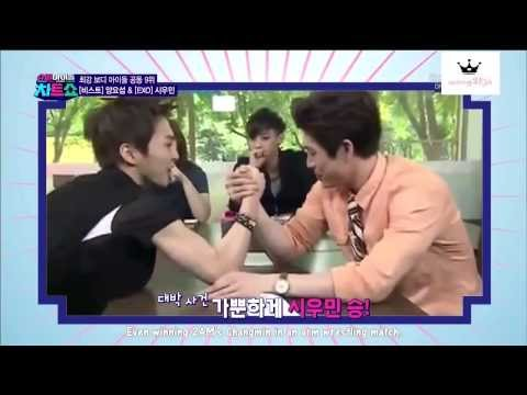 [Eng Sub] Super Idol Chart Show: Idols With Best Bodies - EXO cut