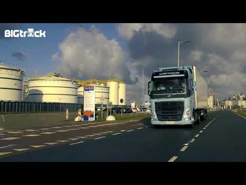 Volvo FH460 LNG Driving impression